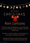Merry Christmas from Clarksons